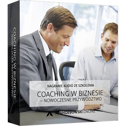 Coaching w biznesie – nowoczesne przywództwo